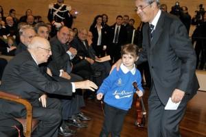 Il festival, anche se dai contorni istituzionali - nella foto il presidente Giorgio Napolitano - è stato affrontato per portare alcune tematiche dell'Unità al grande pubblico