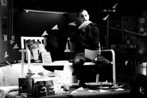 Roberto Bonfanti, lecchese, autore del libro Suonando Pezzi di vetro