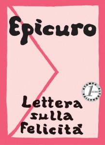 Lettera sulla felicità di Epicuro. Copertina dell'edizione Millelire.