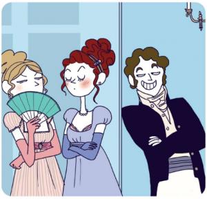 Elizabeth Bennet nelle illustrazioni di Pénélope Bagieu