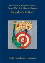 "La cover di ""Regalo di Natale"" - Sellerio"