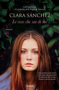 Il nuovo romanzo di Clara Sánchez