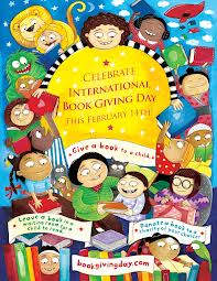 International book giving day,  2014
