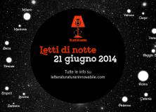 Letti di notte 2014: Sabato 21 giugno la terza edizione