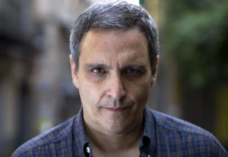 Maurizio De Giovanni (credits: Repubblica.it)