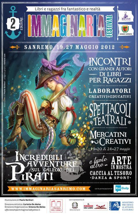 Immaginaria Sanremo e Liguria in Wonderland, rassegna di libri e fumetti per ragazzi