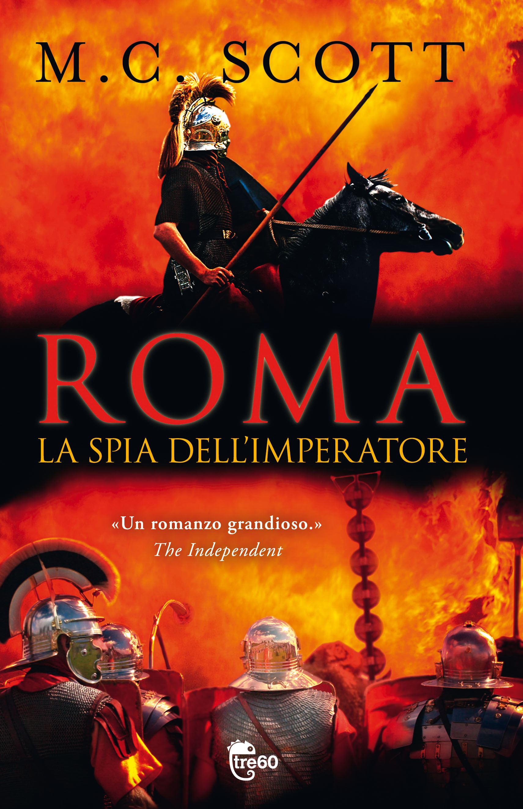 Roma. La spia dell'Imperatore, il nuovo romanzo storico di M.C. Scott